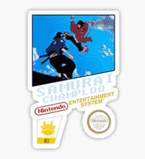 Samurai Champloo - NES Sticker