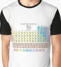 Периодическая таблица, #Периодическаятаблица, Periodic Table of the Elements, #Periodic, #Table,  #Elements, #PeriodicTableoftheElements, #PeriodicTable,  #Element Graphic T-Shirt