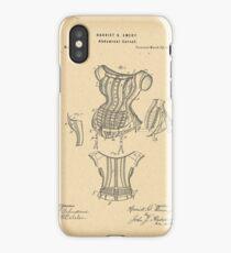 1875 Patent Corset iPhone Case