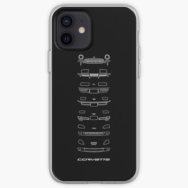 Chevy Corvette Generations iPhone Soft Case