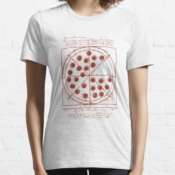 Tom Holland - Vitruvian Pizza (Spiderman Homecoming) Essential T-Shirt