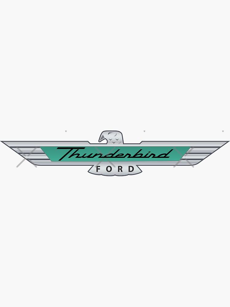 Ford Thunderbird Emblem by ItsMeRuva