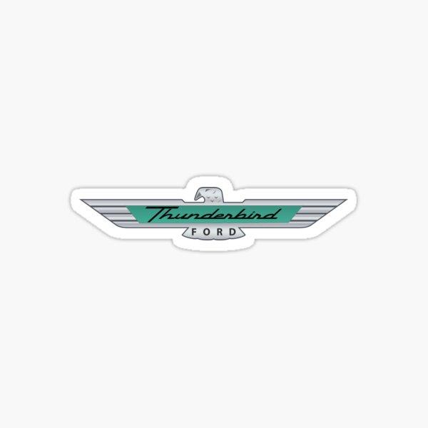 Ford Thunderbird Emblem Sticker