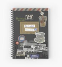 Max Caulfield Journal Spiral Notebook