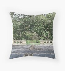 A wall for all seasons Throw Pillow