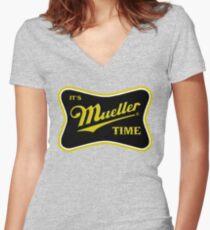 Müller-Zeit 2018 Shirt mit V-Ausschnitt
