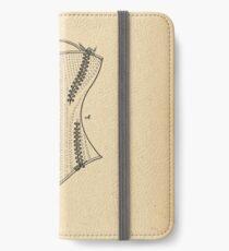 1878 Patent Corset iPhone Wallet/Case/Skin