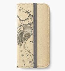 1877 Patent Corset iPhone Wallet/Case/Skin