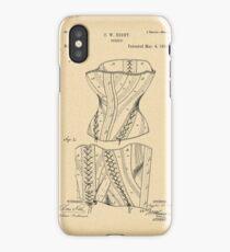 1884 Patent Corset iPhone Case