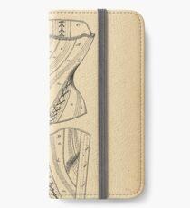 1884 Patent Corset iPhone Wallet/Case/Skin