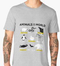 Animals of the world Men's Premium T-Shirt
