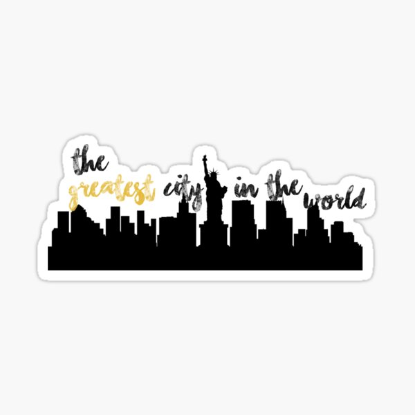 Hamilton | New York City Sticker