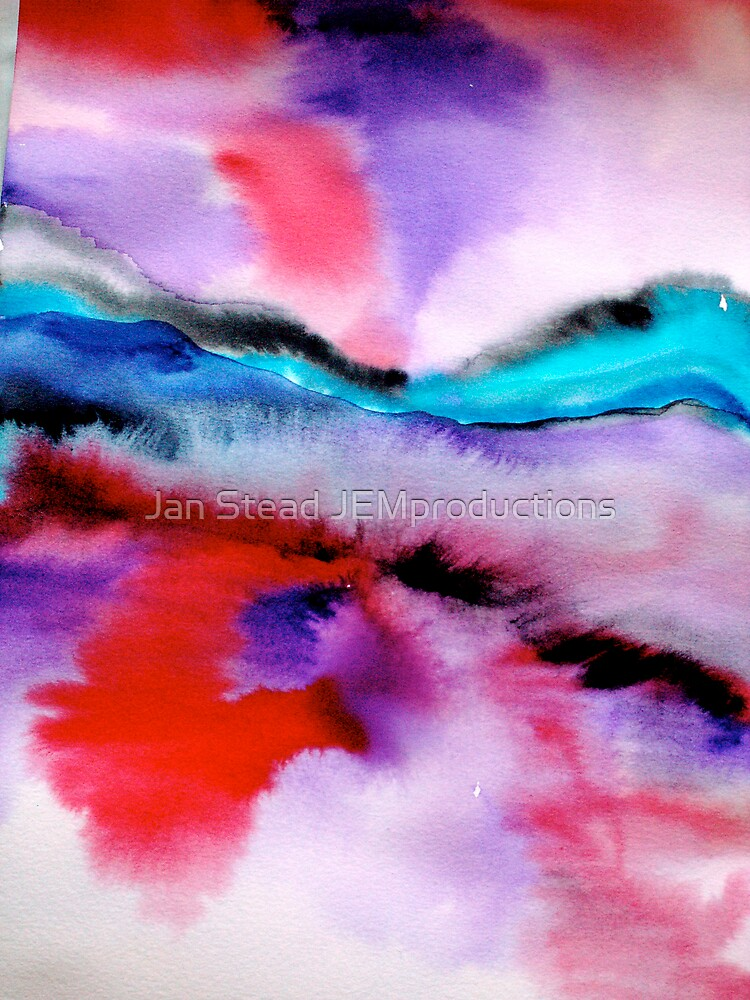 sunset on water by Jan Stead JEMproductions