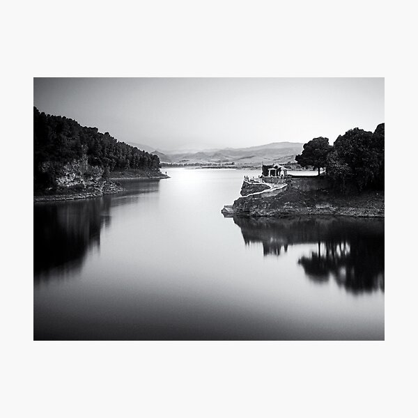 White path 2 Photographic Print