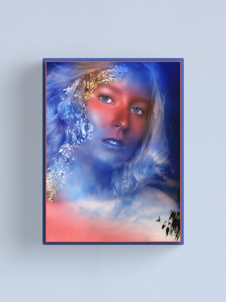 Alternate view of Composite Beauty Canvas Print