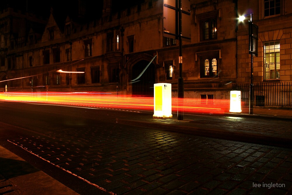 Light trails by lee ingleton