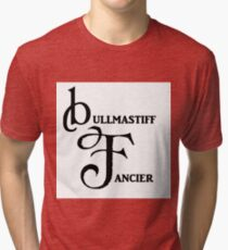 bullmastiff fancier Tri-blend T-Shirt