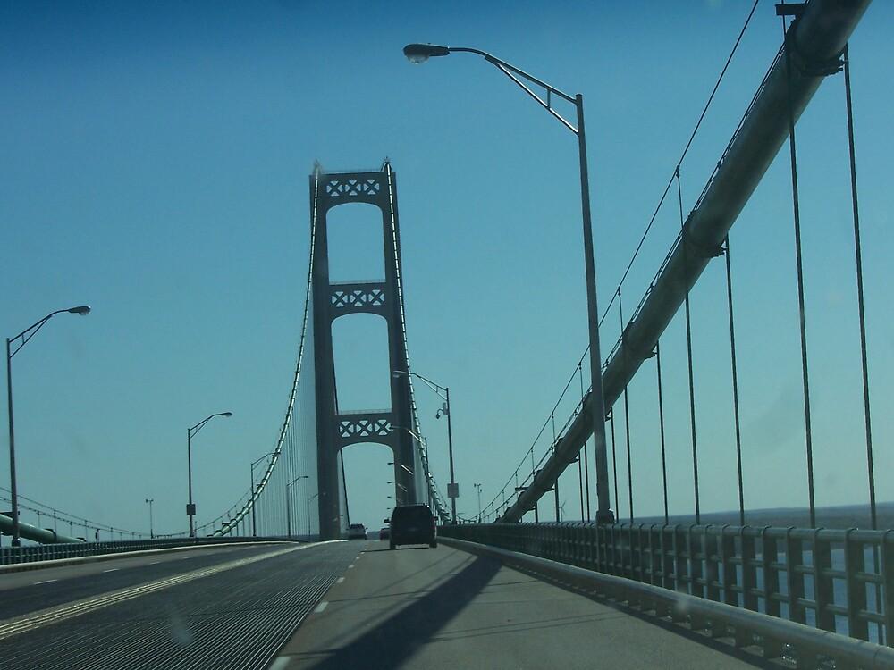 Driving over the great Mac Bridge by revdrrenee