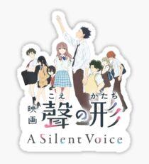 Koe no Katachi(A Silent Voice, The Shape of Voice) Sticker