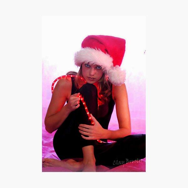 Santa's Helper Photographic Print