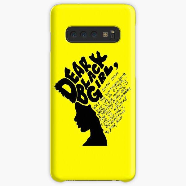 Dear Black Girl Samsung Galaxy Snap Case