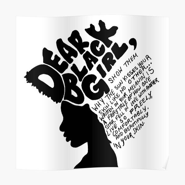 Dear Black Girl Poster