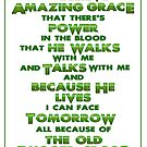 Amazing Grace - Green by Patricia Howitt