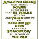 Amazing Grace - Gold by Patricia Howitt