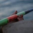 The hands of the fisherman by Bernard Raskin