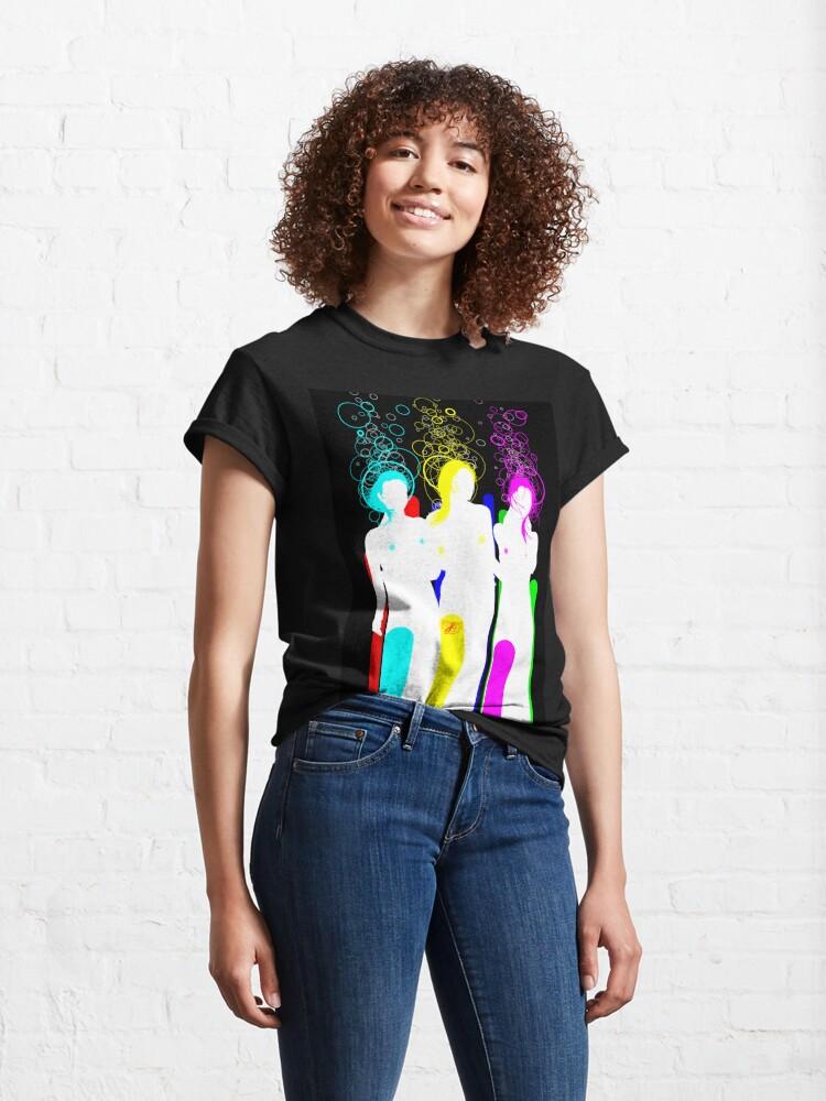 Alternate view of quadricromia c Classic T-Shirt