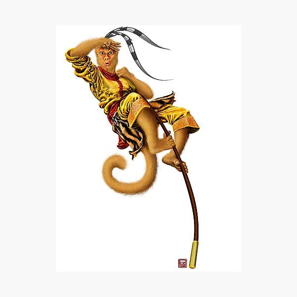 The Monkey King Photographic Print