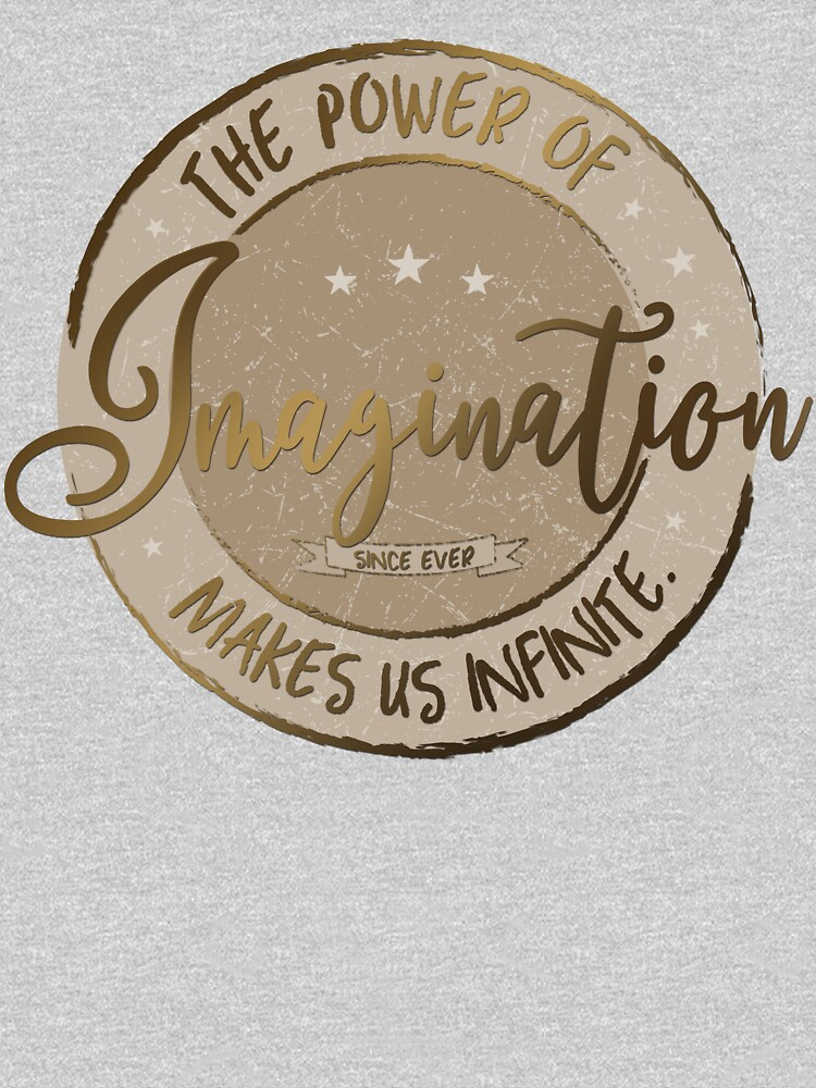 The Power of Imagination ... (gold / sepia) by M-ohlala