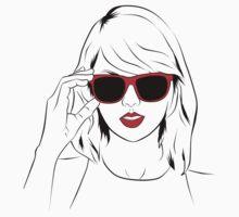 Sunglass Swift- RED | Unisex T-Shirt