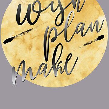 WISH - PLAN - MAKE by M-ohlala