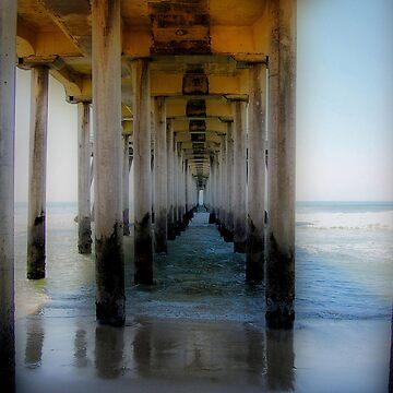 Huntington Beach Pier, CA  by SueAnne