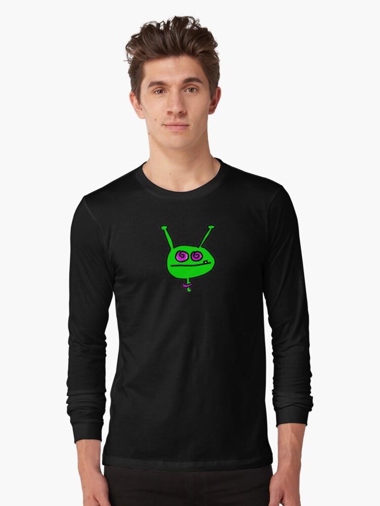 Martian (large) Long Sleeve T-Shirt Front