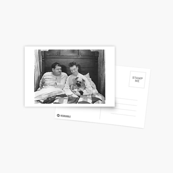 Laurel and Hardy, Laughing Gravy Postcard