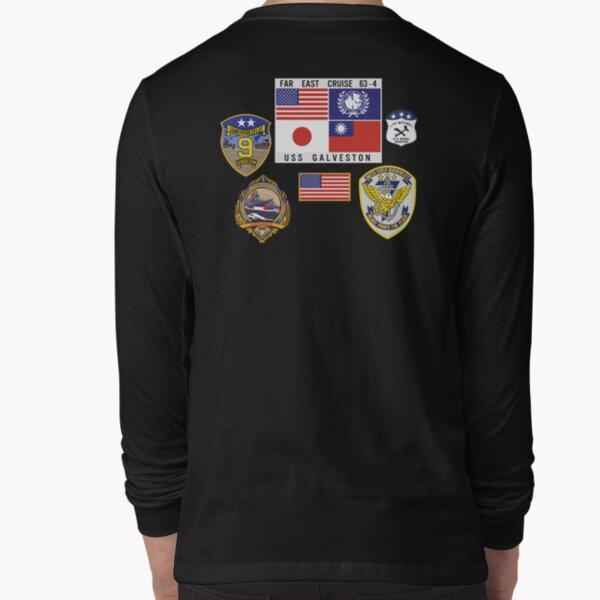 USS GALVESTON FAR EAST CRUISE - TOP GUN Long Sleeve T-Shirt