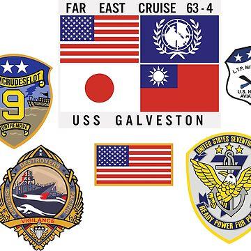USS GALVESTON FAR EAST CRUISE - TOP GUN by VASSdesign