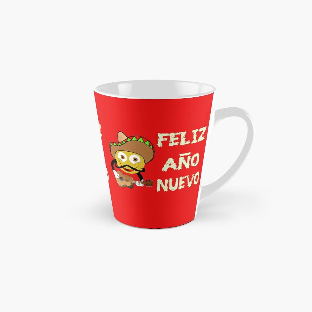 Happy New Year Spanish Holiday Celebration Mugs