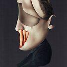 The Visitor's Portrait by dervinbatarlo