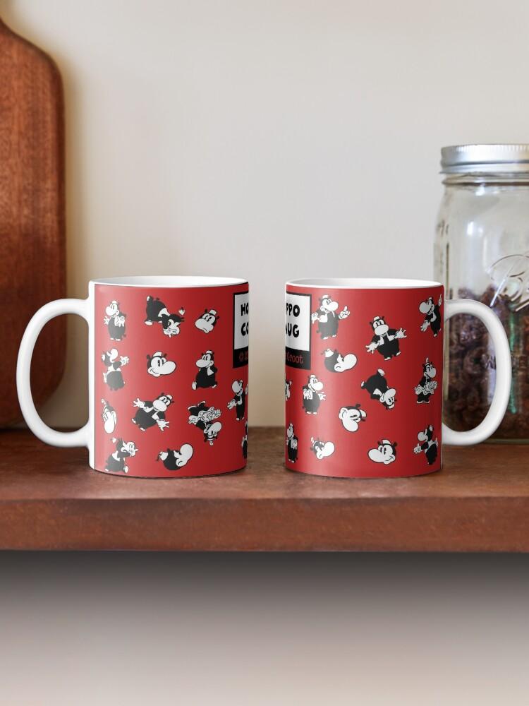 Alternate view of Horus Hippo - Coffee Mug Mug