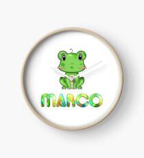 Marco Frog Clock