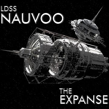 The Expanse - DLSS Nauvoo & (Tycho station) by CMOsimon
