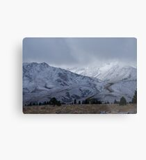 Mountain Scene Metal Print
