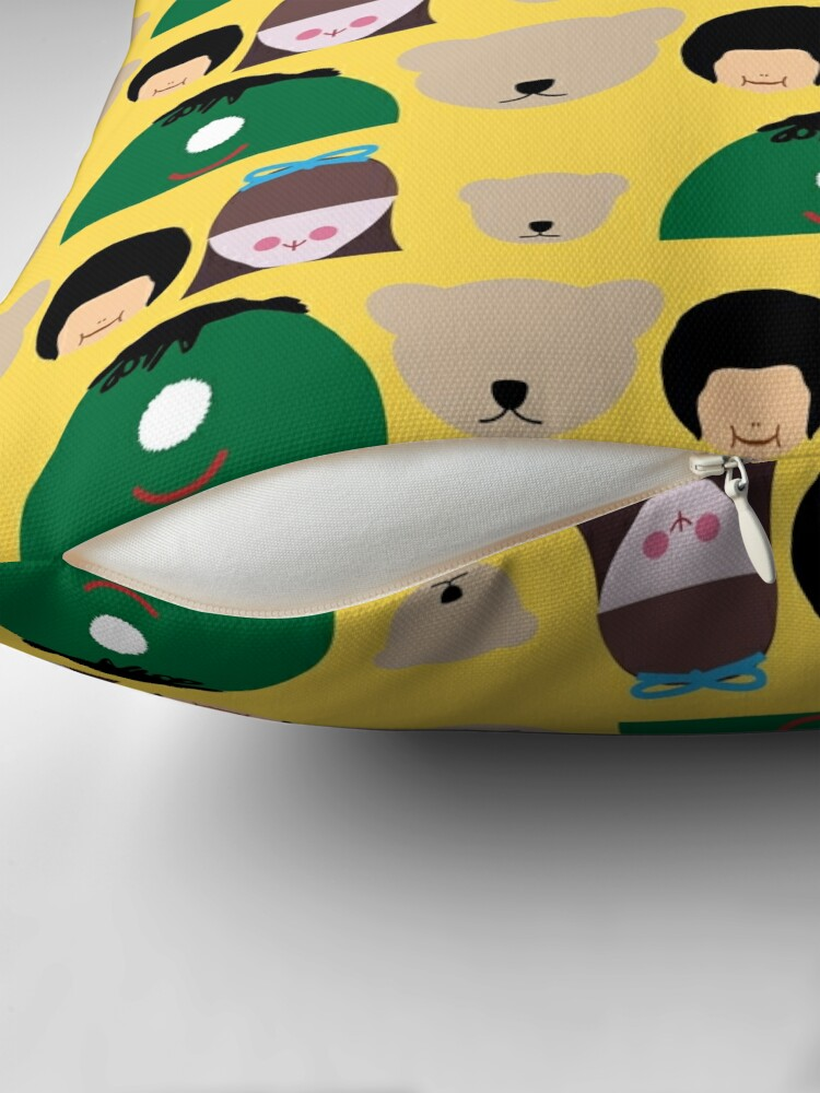 Alternate view of NDVH Play School Toys Throw Pillow