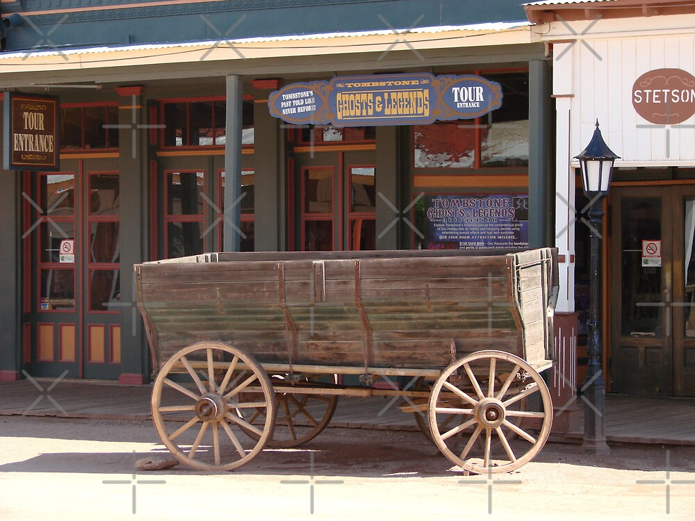 Tombstone wagon by Kimberly Miller