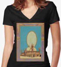 Badshahi - The Qalam Series Women's Fitted V-Neck T-Shirt