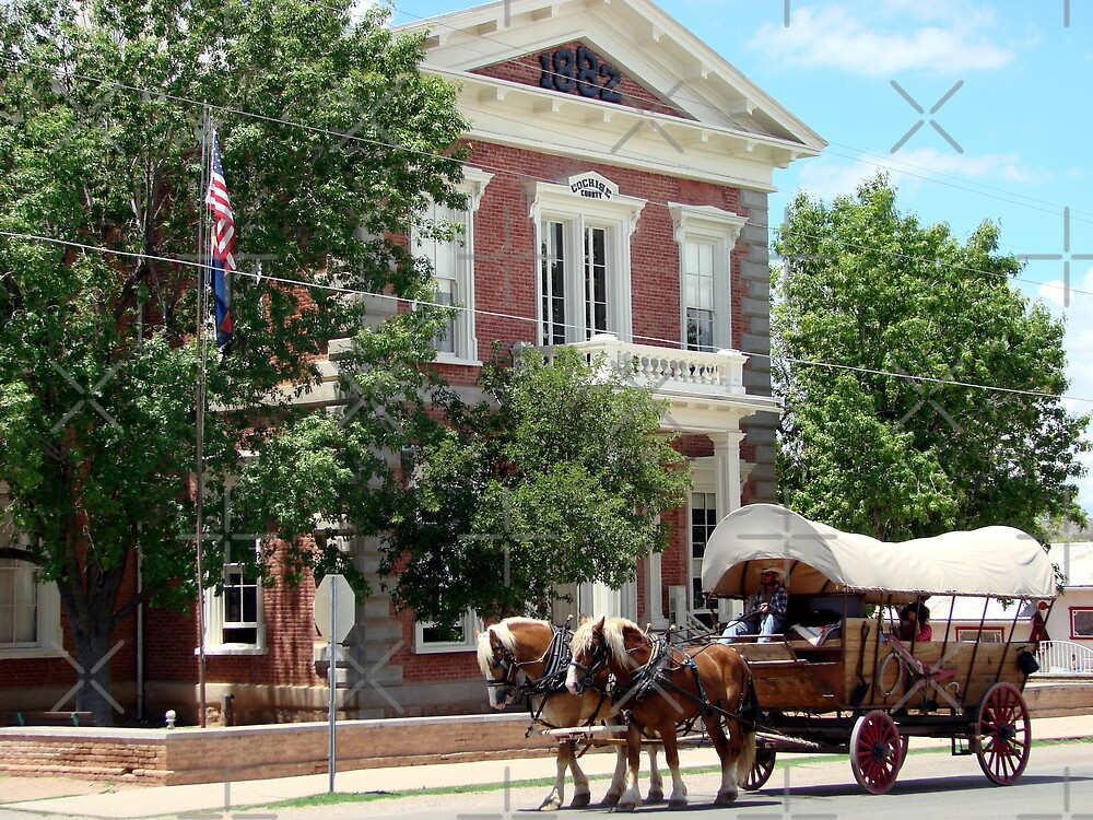 Tombstone Courthouse by Kimberly Miller