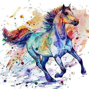 horse art by spartamos